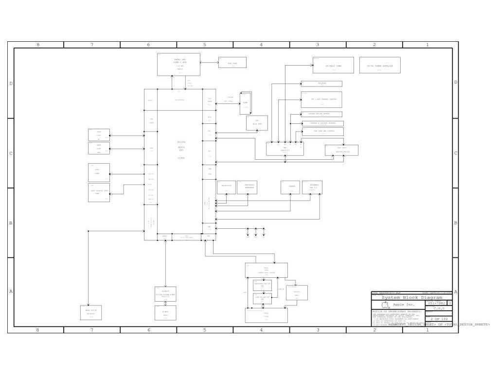 Apple Macbook Unibody A Schematic 820 Schem