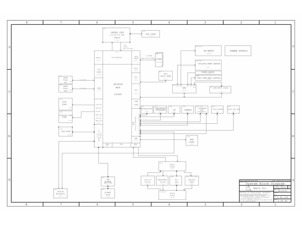 Apple Iphone 6 Block Diagram