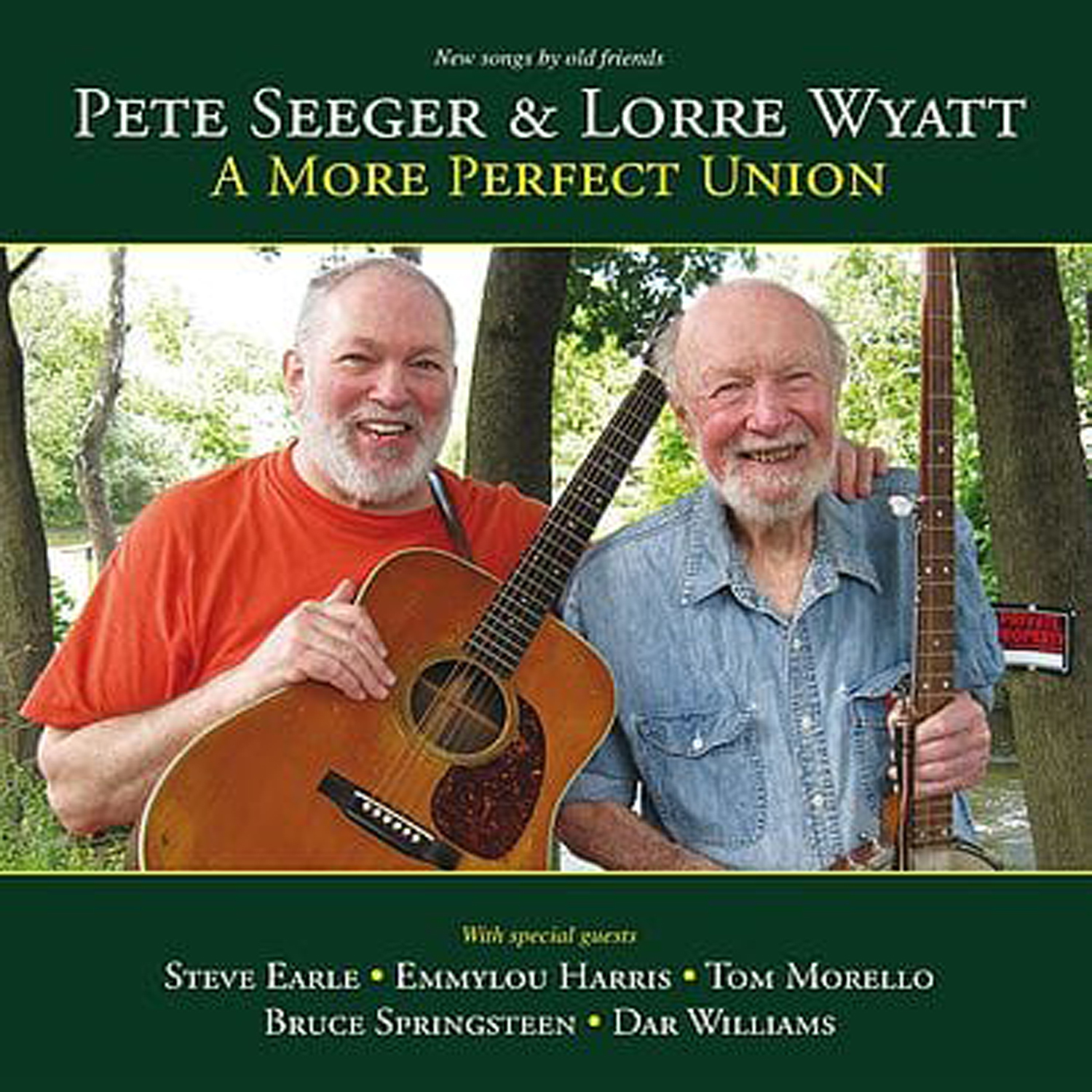 Pete Seeger & Lorre Wyatt | A More Perfect Union (2012) - Appleseed  Recordings