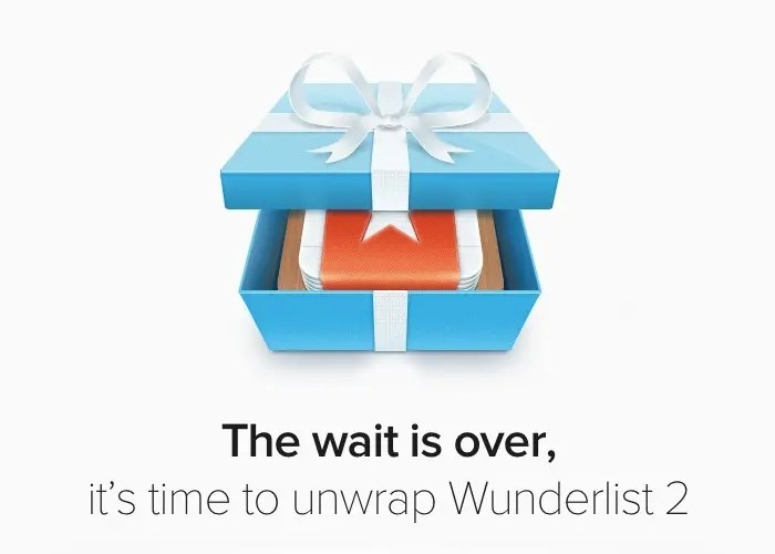 Wunderlist 2.0 ya disponible