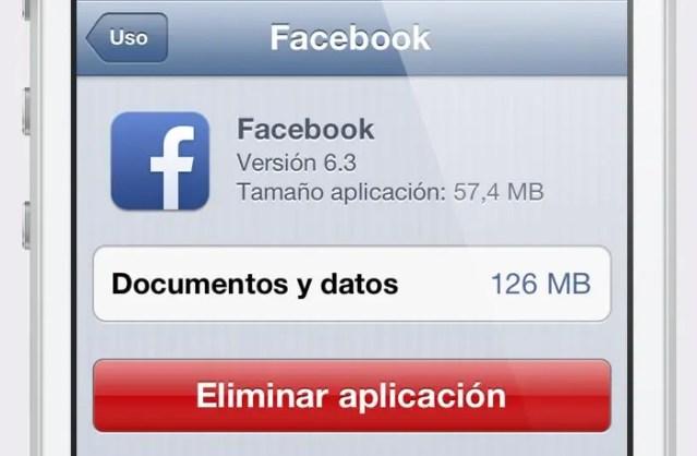 Resultado de imagen de facebook lleno iphone