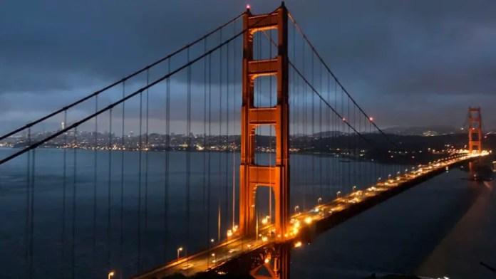 Puente Golden Gate foto iPhone 8 Plus