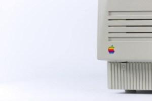 vintage apple mac