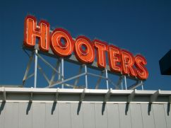 Sign Example - Hooters St Johns