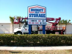 Sign Example - Budget Self Storage