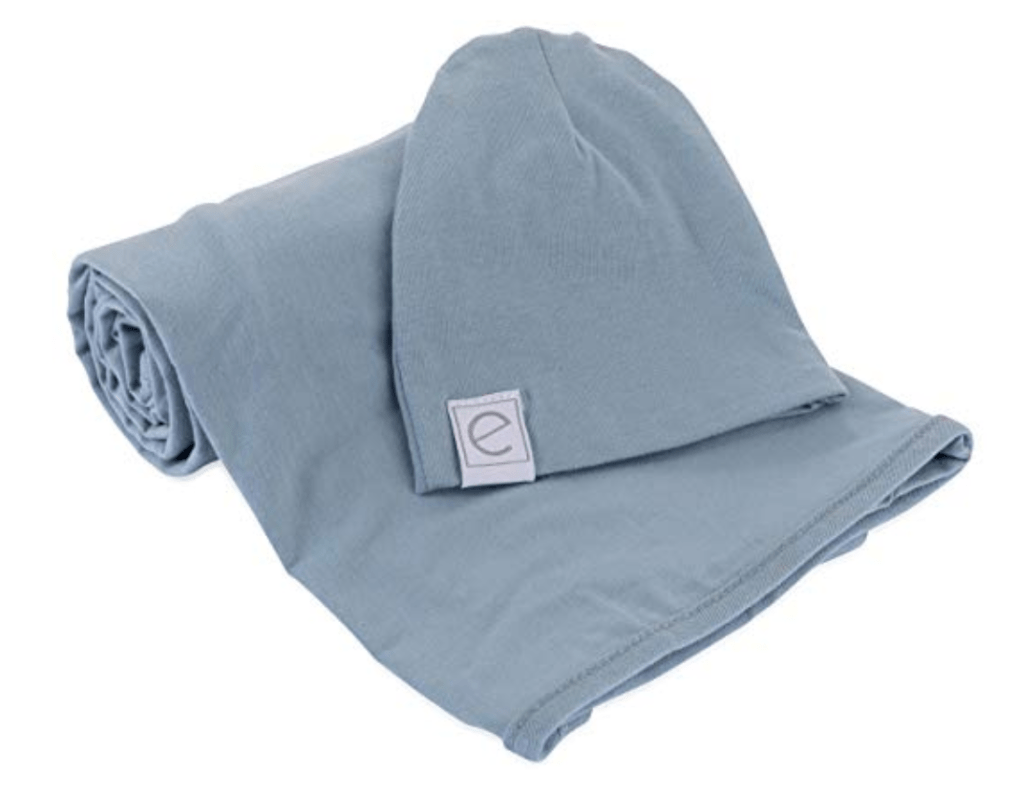 What to pack in your. hospital bag for the baby hospital swaddle and hat