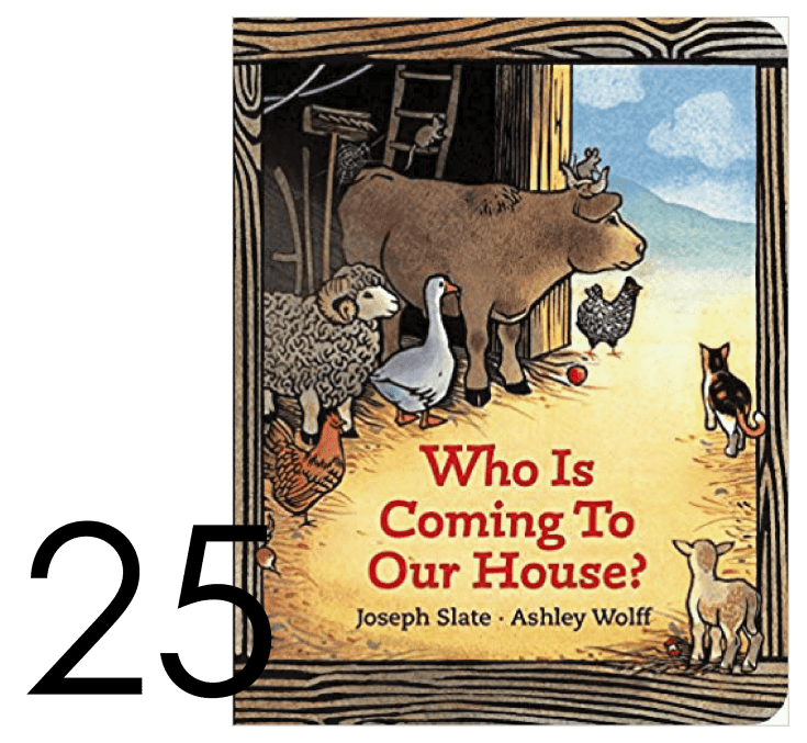 Who is Coming to Our House? Holiday and Christmas Book List