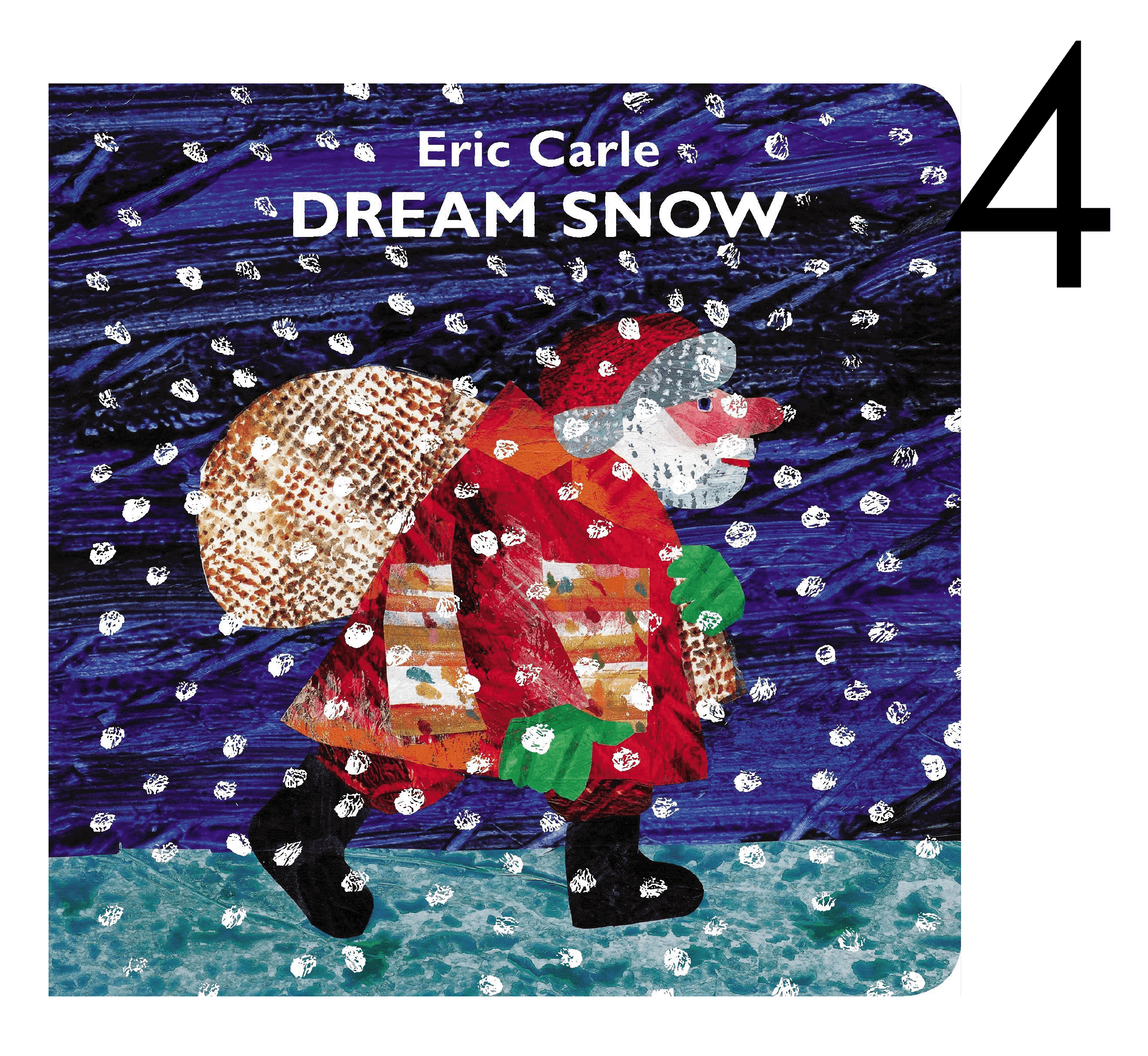 Dream Snow by Eric Carle Collection of Christmas and Holiday Books for Apple Slices