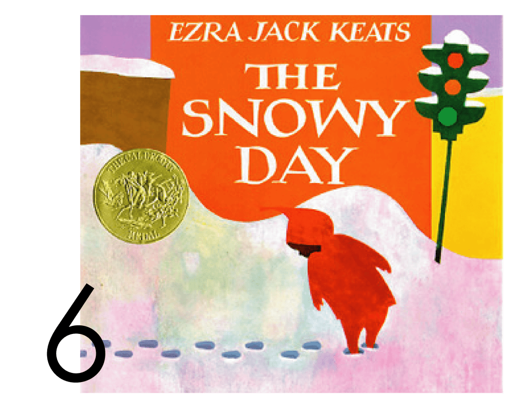 The Snowy Day Collection of Holiday and Christmas Books for Apple Slices