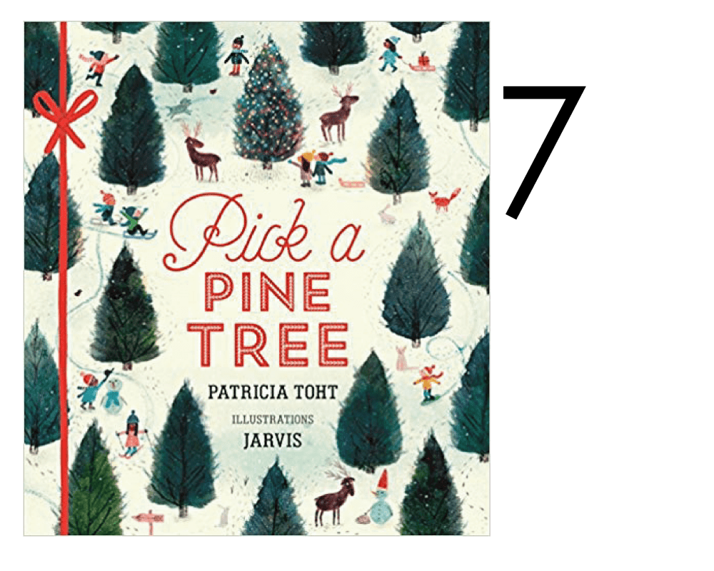 Pick a Pine Tree by Patricia Toht Collection of Holiday and Christmas Books for Apple Slices