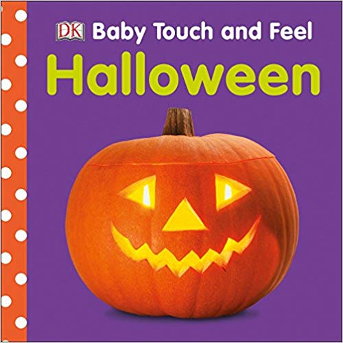 Baby touch and feel Halloween book cover