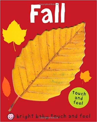 Fall touch and feel book cover