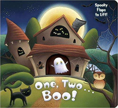 One, Two, Boo! book cover