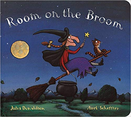The Room on the Broom Book Cover
