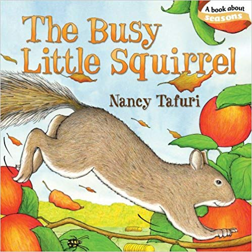 The Busy Little Squirrel book cover
