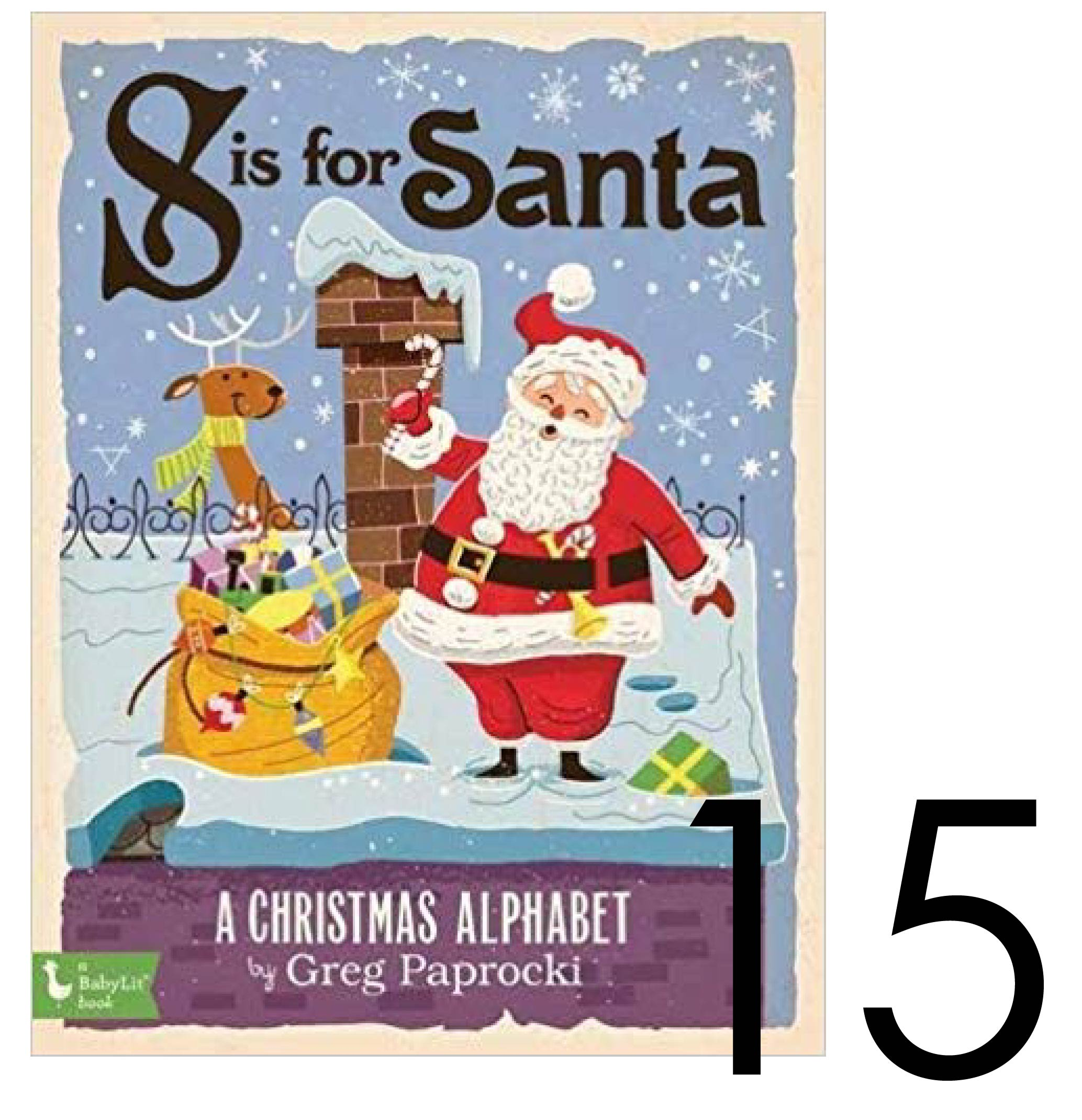S is for Santa Christmas and Holiday Book Countdown