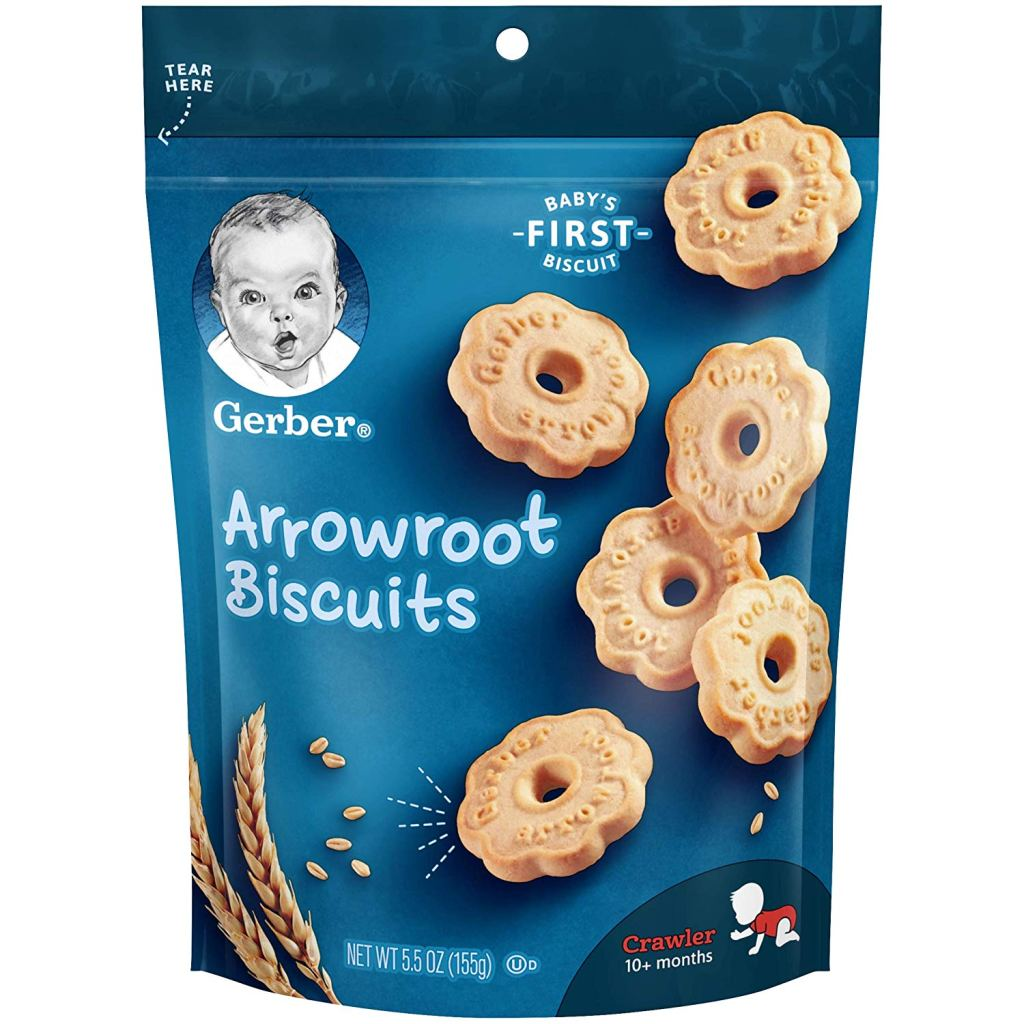 Biscuits for babies to enjoy and help with teething