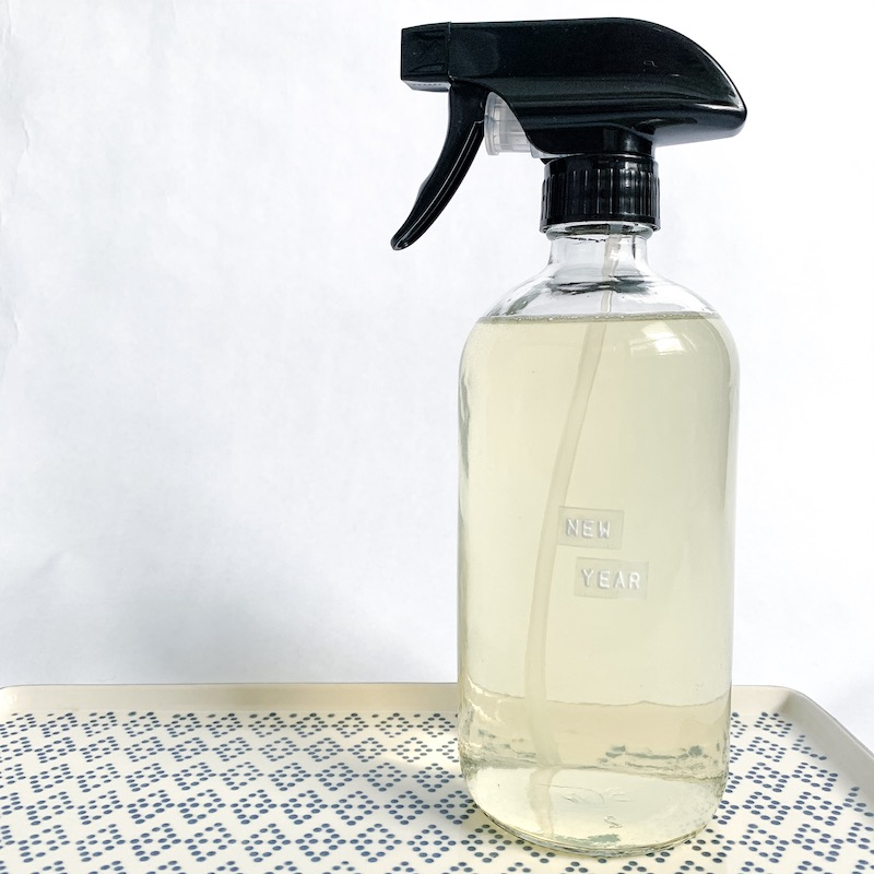 New Year Non Toxic Countertop Spray
