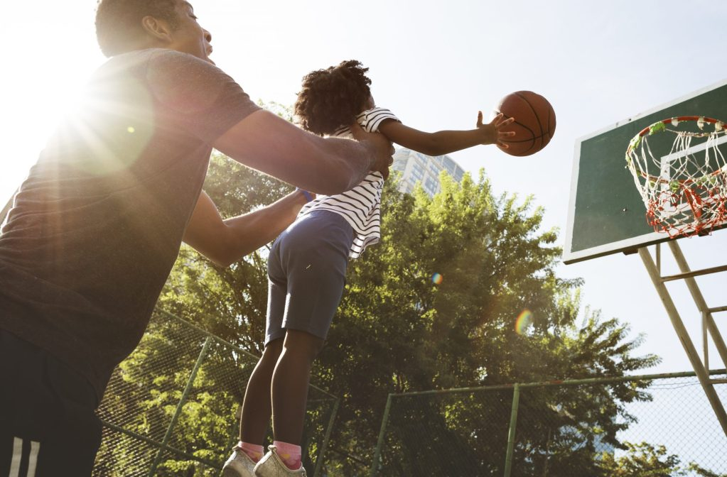 Basketball Sport Exercise Activity Leisure. A great way to get outside and practice basic counting and addition skills with a game
