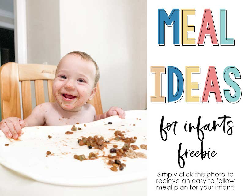 Free meal plans for infants Advertisement - click here for more information