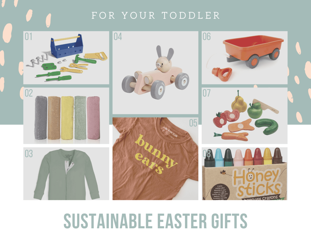 Sustainable Gift Ideas for Your Toddler