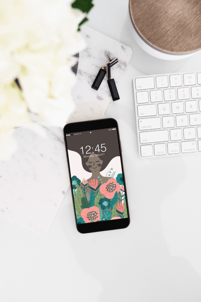 Spring wallpaper for your phone