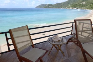 Sun Deck at the Sea Breeze Villa Apple Bay Tortola