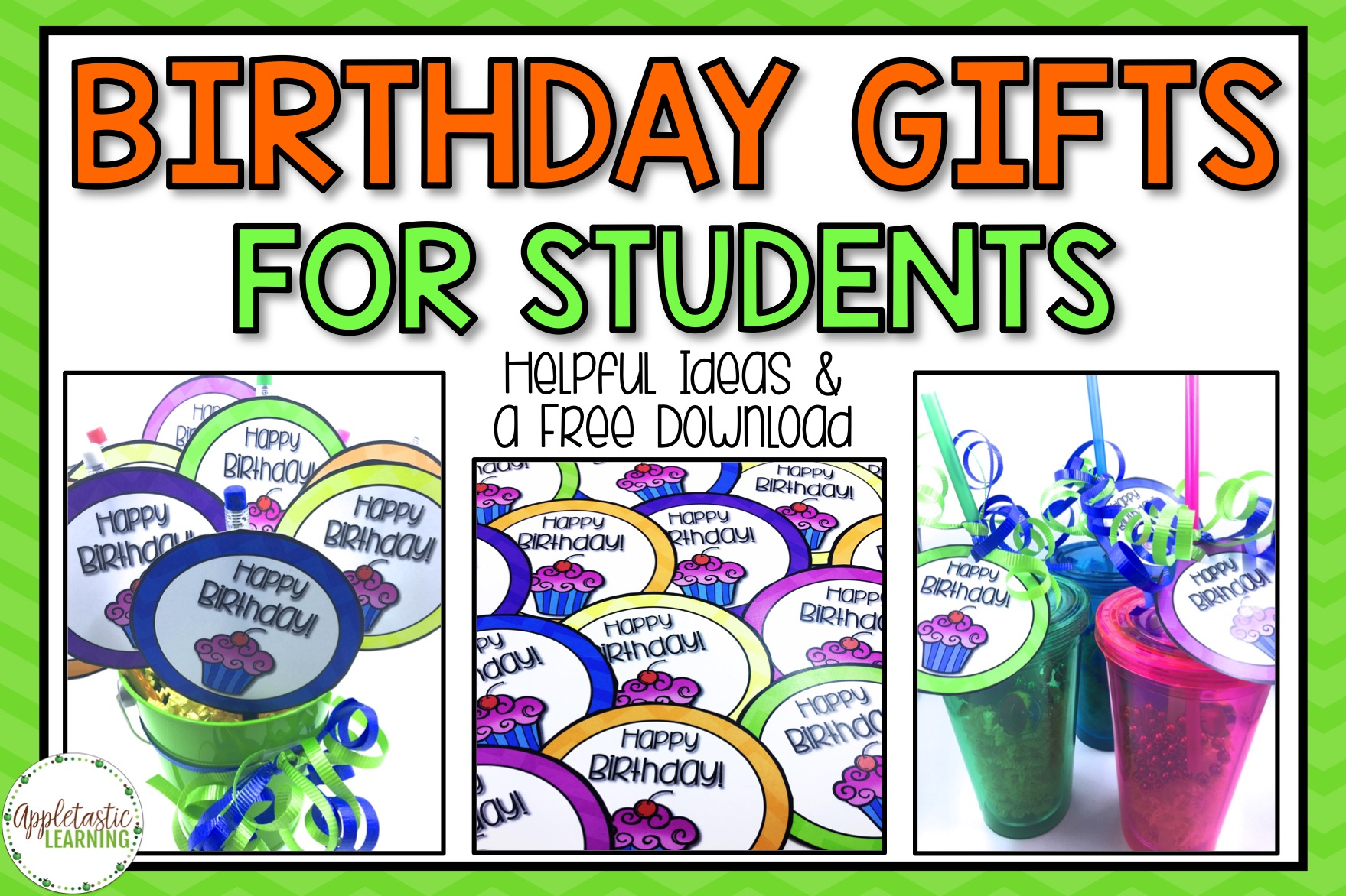 Student Birthday Ts With A Free Download