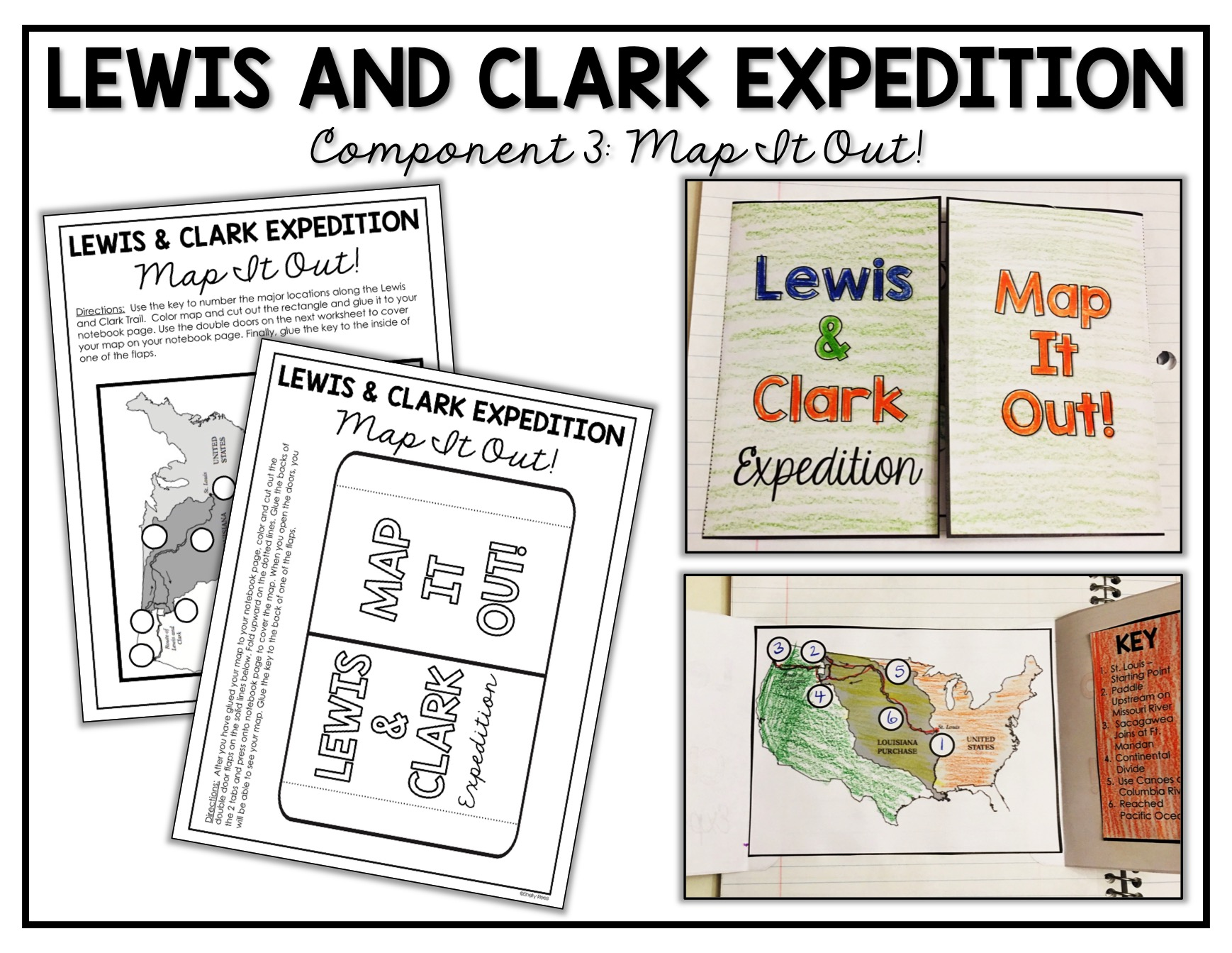 Smart Lewis And Clark Printable Map