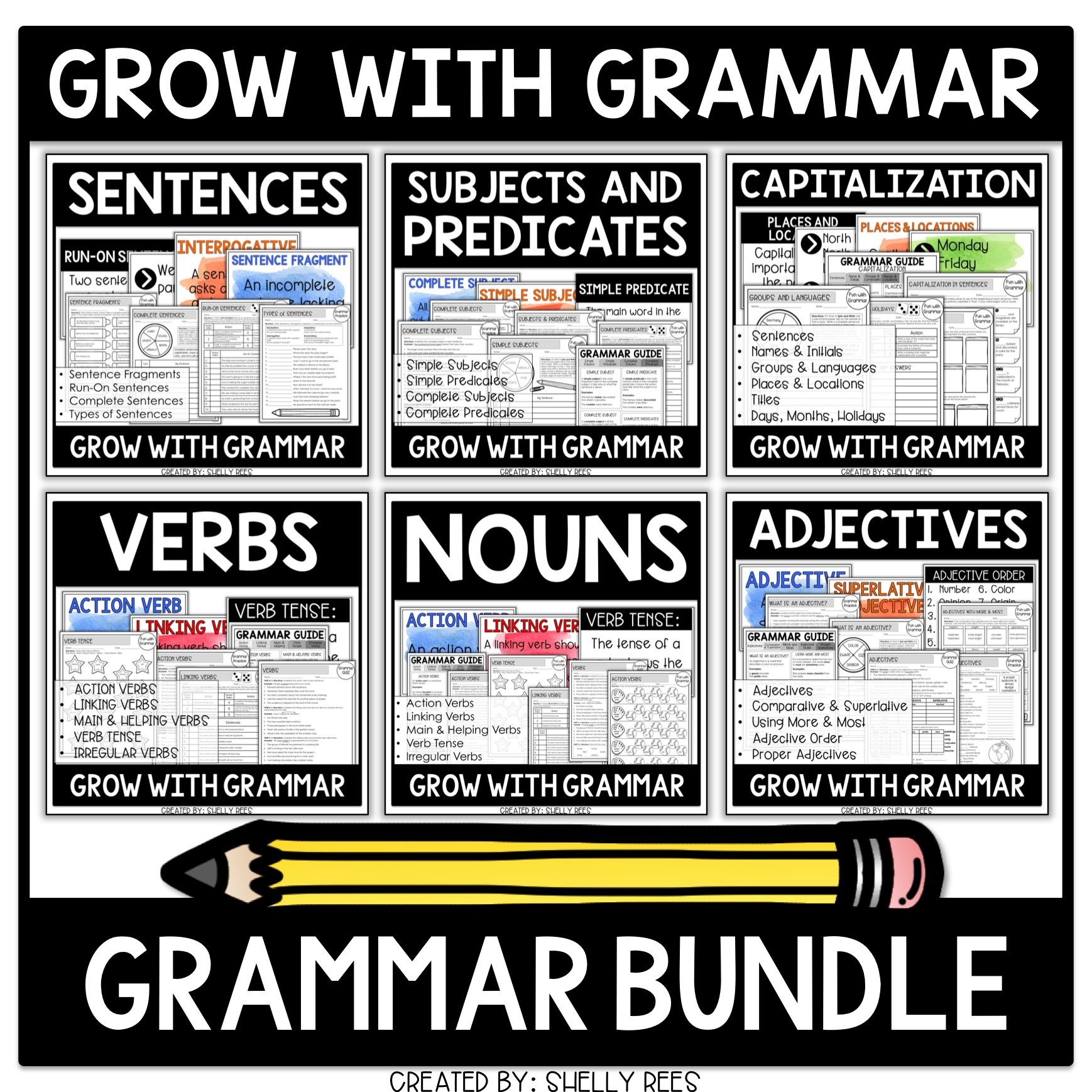 Parts Of Speech Worksheets That Kids Love