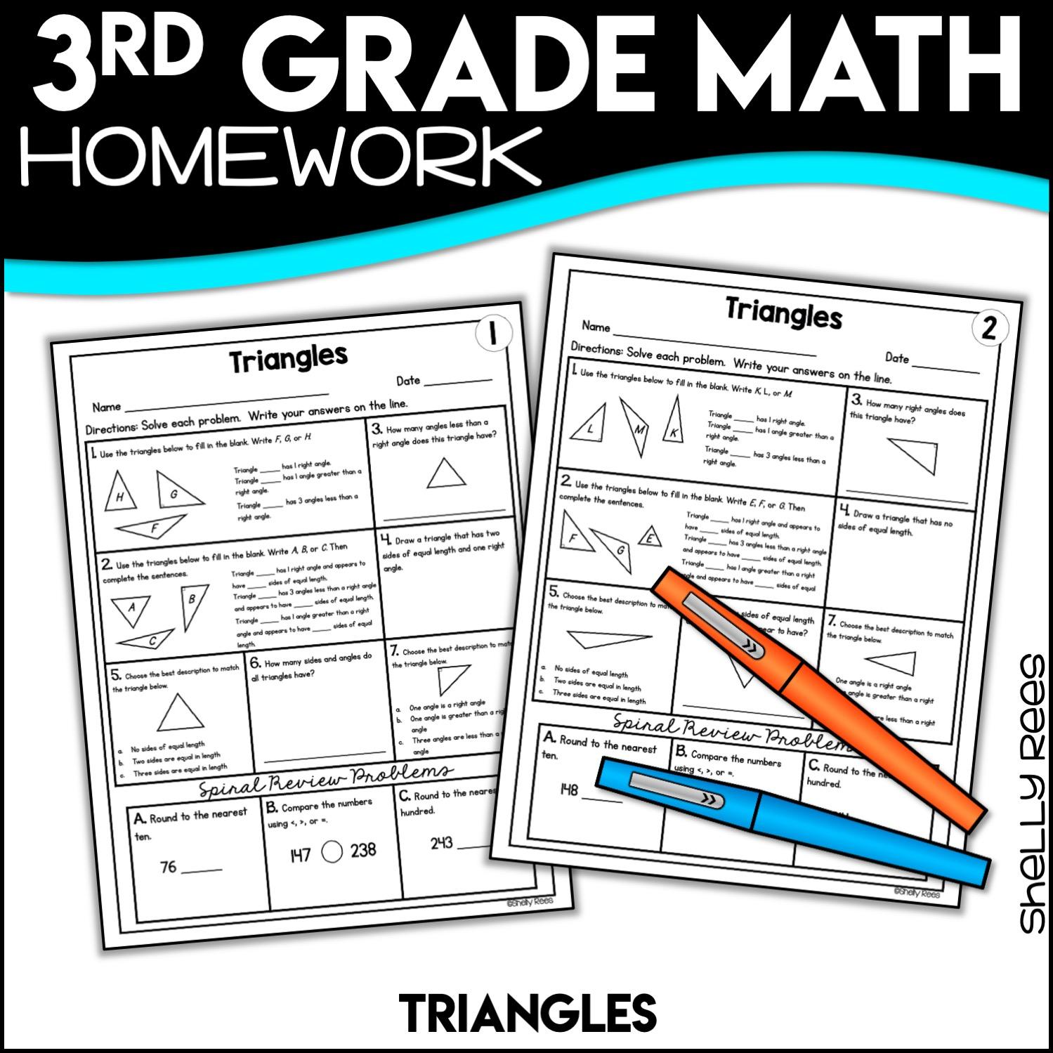 3rd Grade Math Worksheets Free And Printable
