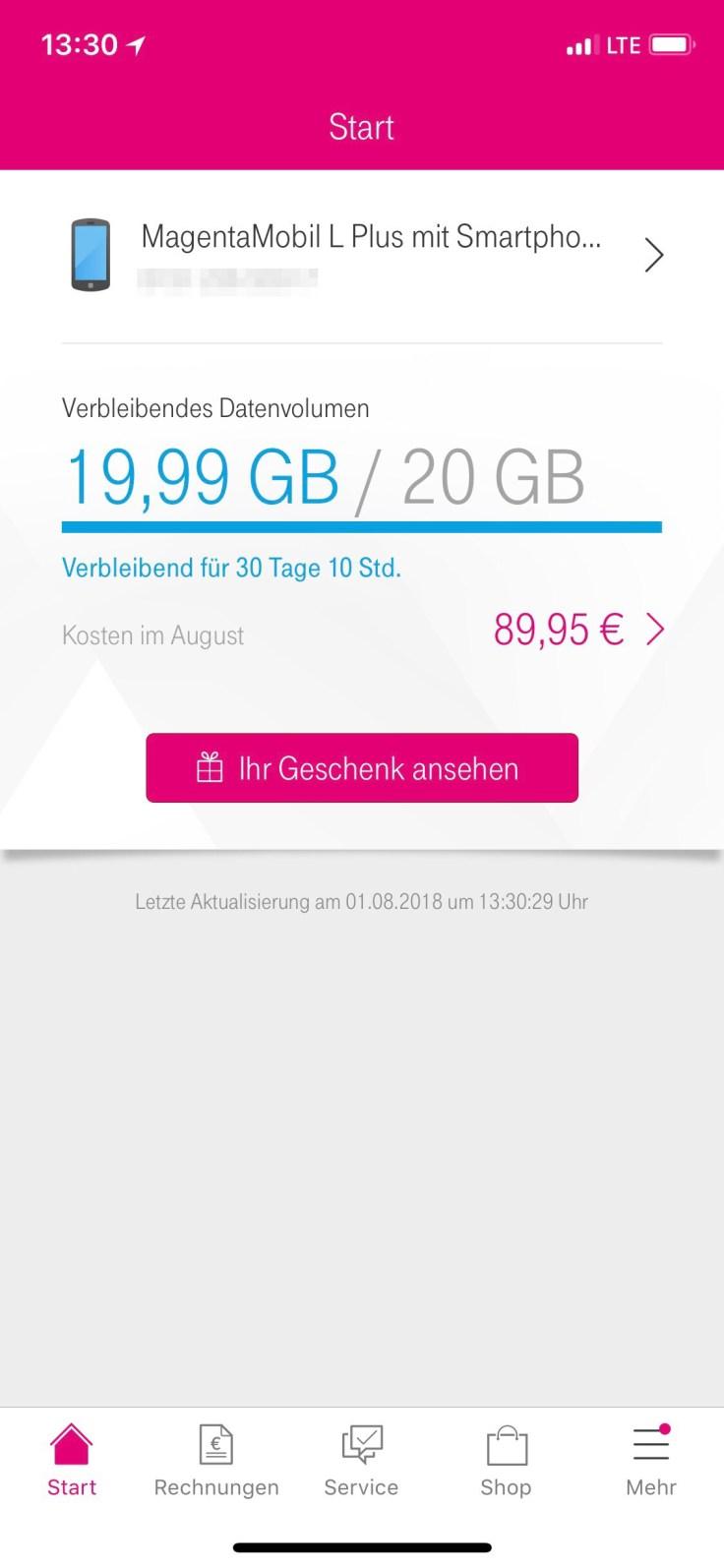 Ein Weiteres Geschenk Der Telekom Appletechnikblog