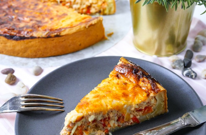 Thunfisch Paprika Quiche