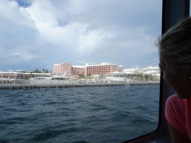 Bermuda Wetter auf der Fähre