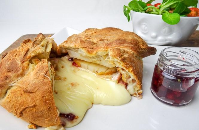 camembert brötchen walnuss