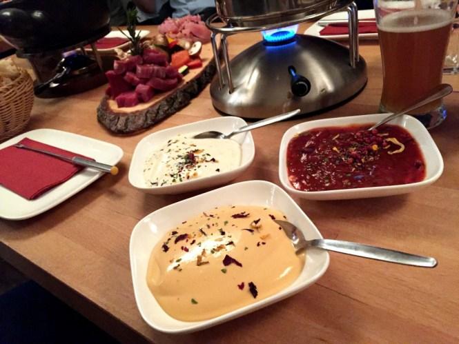 soßen zum fondue