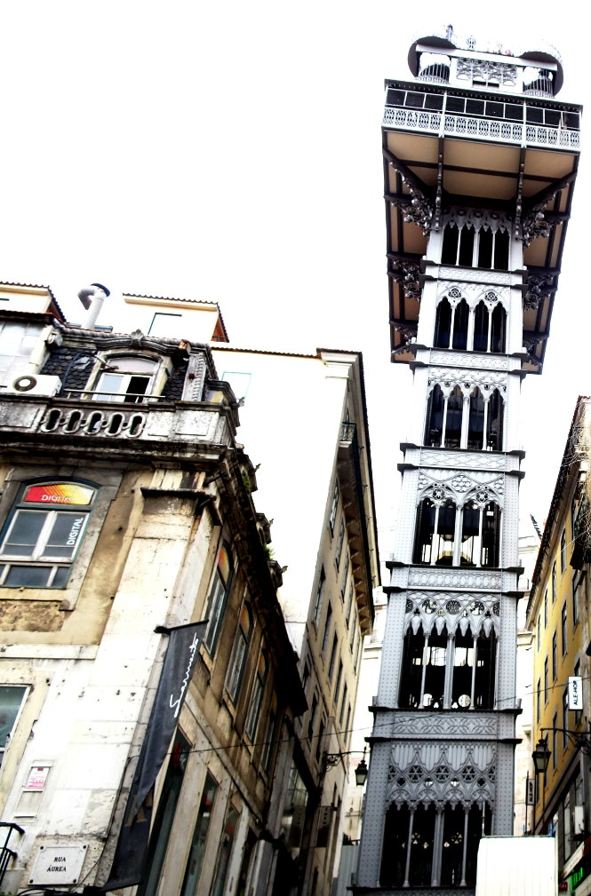 elevador de santa justa lissabon sehenswürdigkeiten