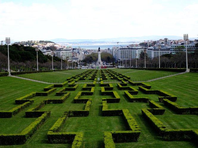 park eduardo lissabon Städtereise