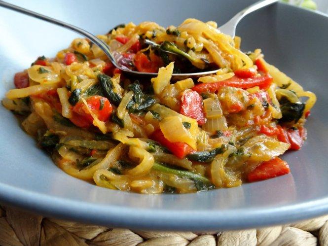 gemüse lowcarb pasta