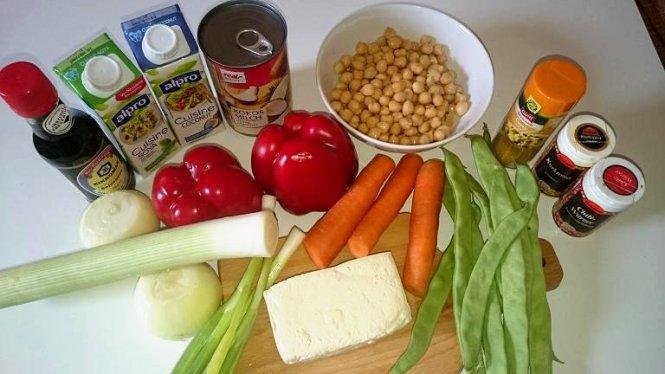 Zutaten curry