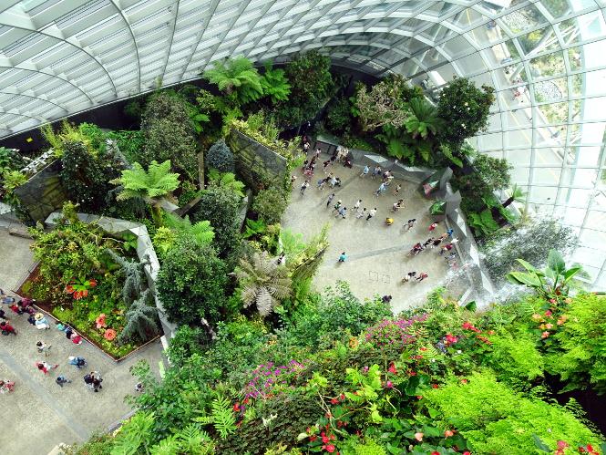 cloud forest singapur travelguide urlaub
