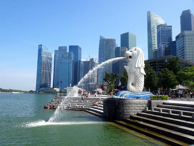 merlion singapur travelguide day