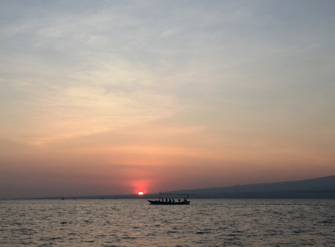 bali norden lovina beach sunrise