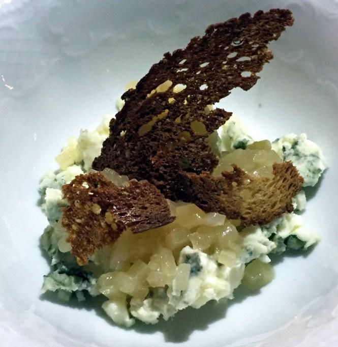 cotes du rhone blauschimmelkäse dessert