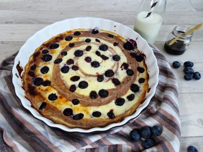quark pancake aus dem ofen