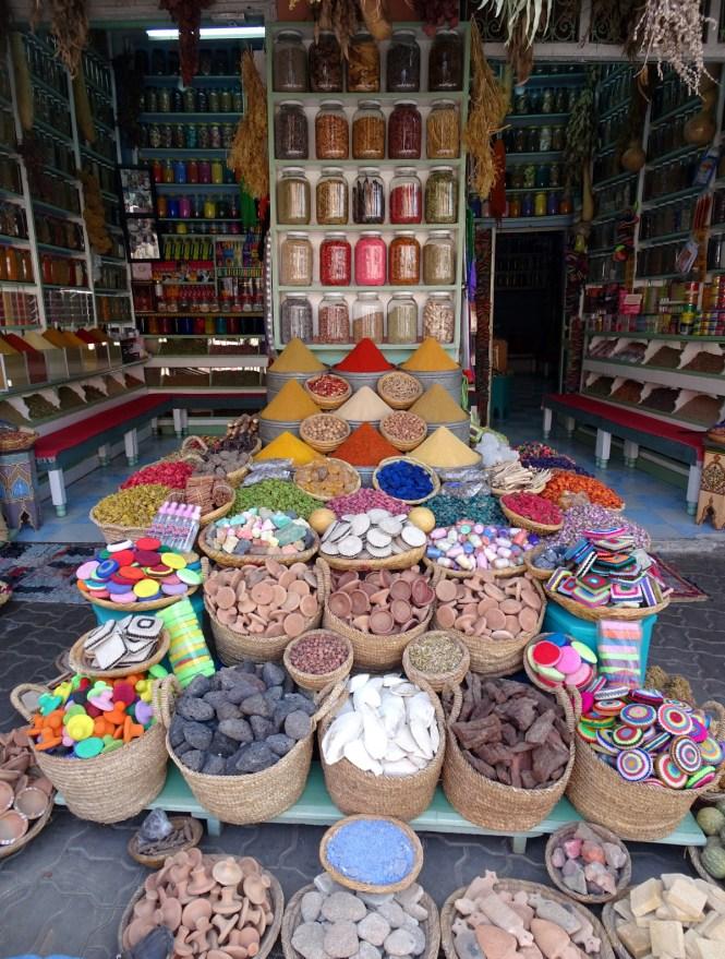 marrakesch-citytrip-gewuerze Marrakesch Sehenswürdigkeiten