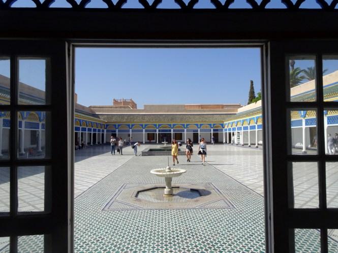 marrakesch-citytrip-palais-de-la-bahia-yellow-blue Marrakesch Sehenswürdigkeiten