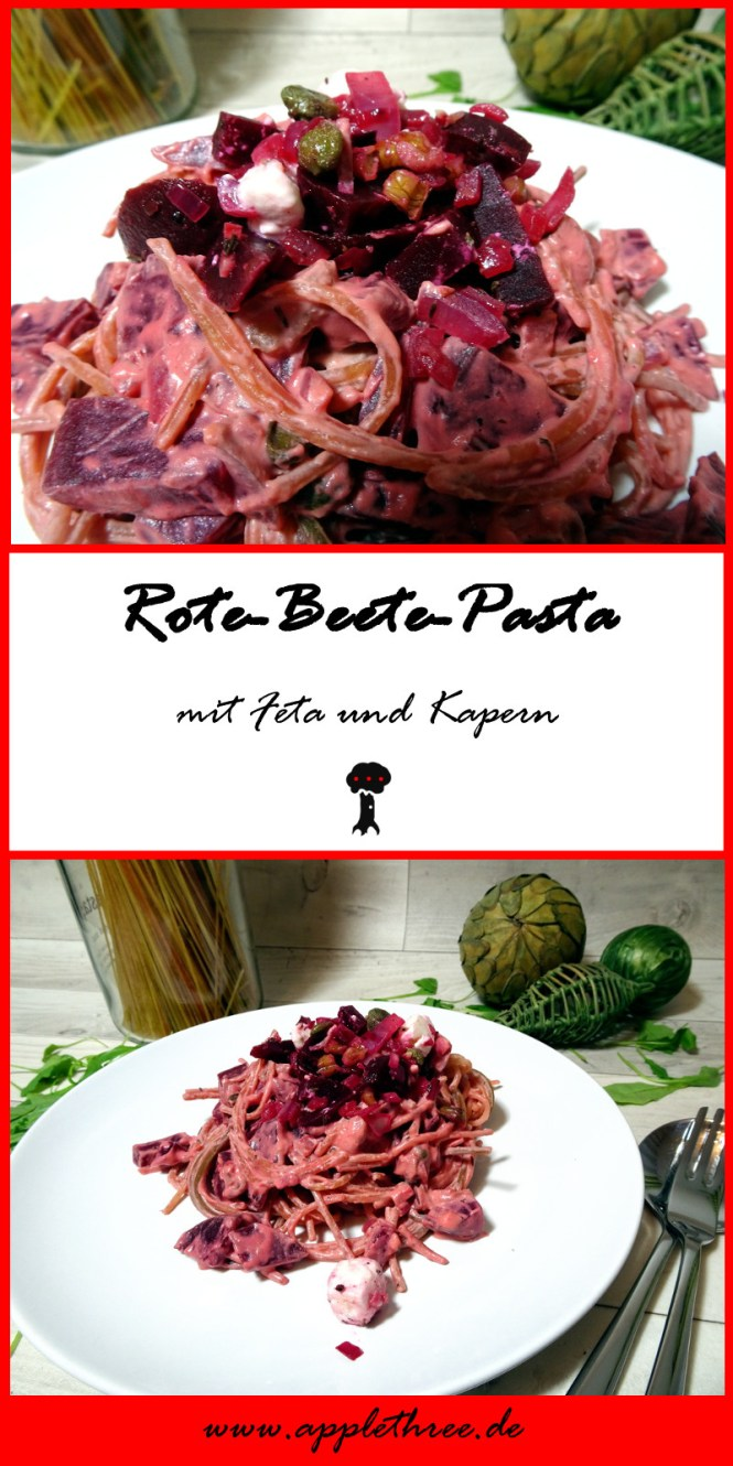 rote beete pasta pin