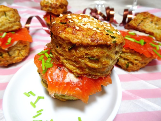 Cheese Scones als  Fingerfood/Partyfood
