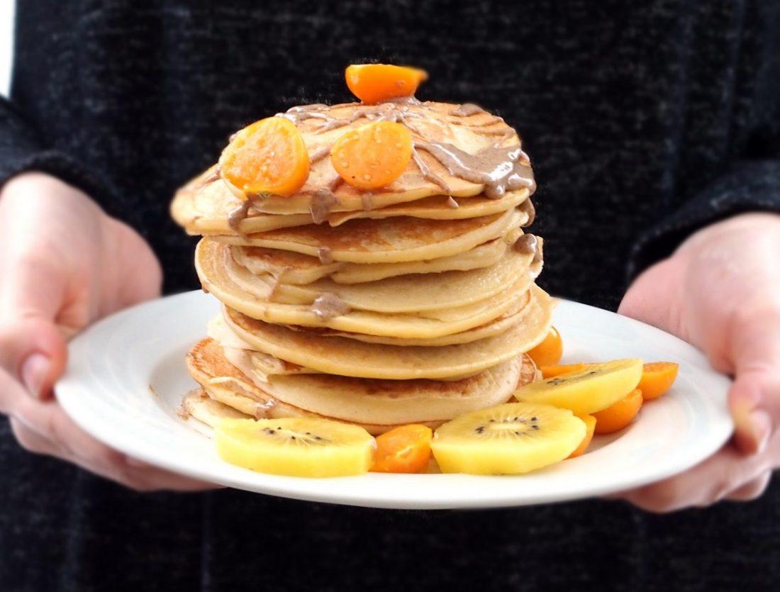 Ricotta Protein Pancakes